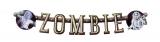 Buchstabenkette Zombie100cm