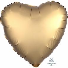 .Folienballon Herz GOLD satiniert