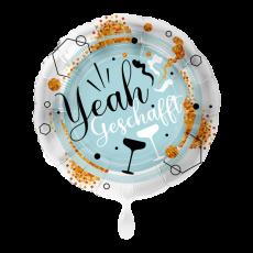 Folienballon XXL Yeah geschafft ca. 71cm