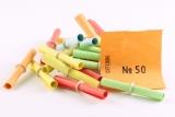 Set - Gewinne, Nieten und Aufklebenummern - farbig gemischt