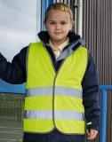 .Kinder-Sicherheitsweste Core Junior Safety Vest - die günstige Art sicher gesehen zu werden.