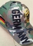 Baseball Cap Germany Camouflage mit Deutschland Wappen