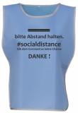 . #socialdistance Überwurf SKYBLUE