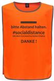 . #socialdistance Überwurf FLUO ORANGE