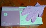 Pink Pearl Nitrilhandschuhe GRÖSSE 6-6,5 SMALL 100 Stück
