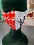 Gesichtsmaske 2 lagig (Polyester / Baumwolle)