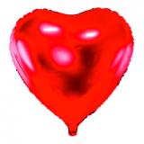 Folienballon Riesen-Herz ROT mit Ballongasfüllung